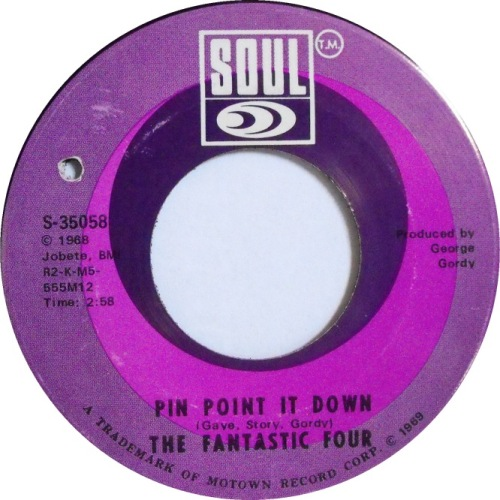 the-fantastic-four-pinpoint-it-down-soul