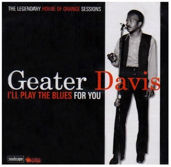 Geater Davis Geater 'Blues' Davis Strange Sensation