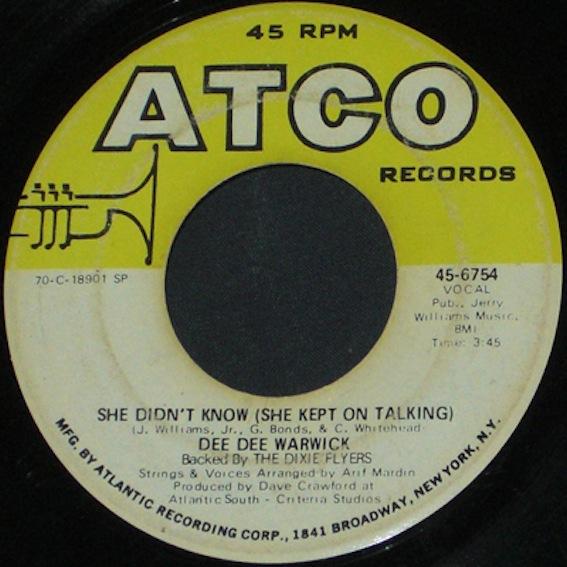 Dee Dee Warwick Turning Around