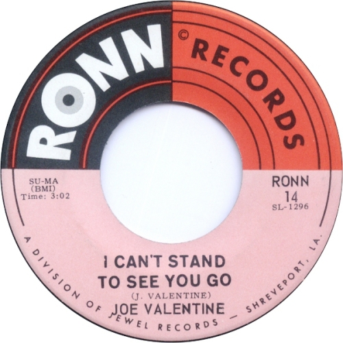 joe-valentine-i-cant-stand-to-see-you-go-ronn