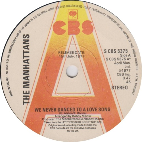 the-manhattans-we-never-danced-to-a-love-song-cbs