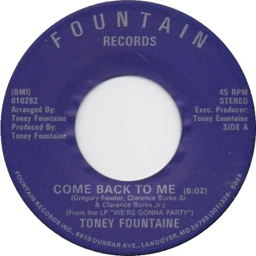 toney-fountaine-come-back-to-me-fountain-maryland