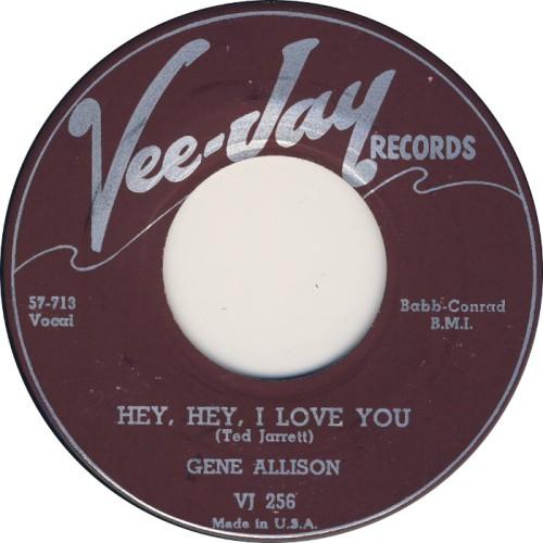 gene-allison-hey-hey-i-love-you-vee-jay