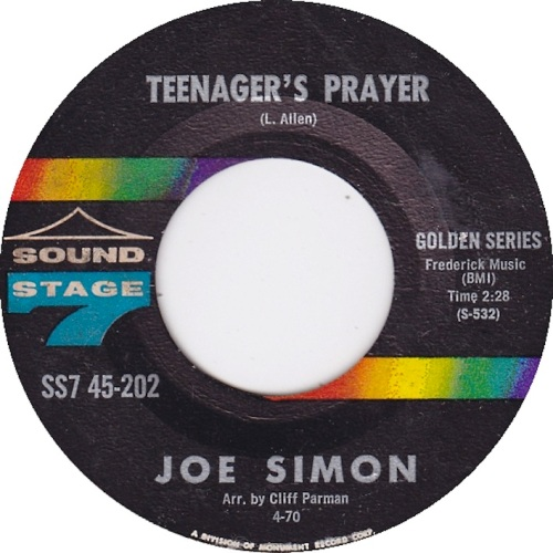 joe-simon-teenagers-prayer-sound-stage-7-golden-series