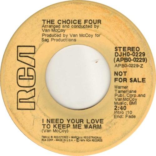 the-choice-four-i-need-your-love-to-keep-me-warm-rca-2